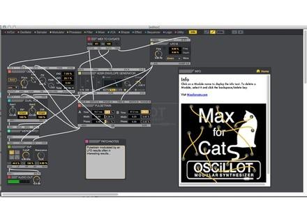 Max for Cats Oscillot