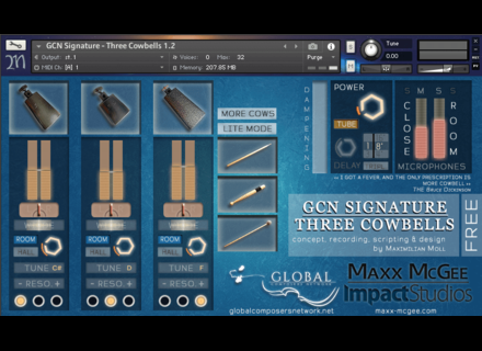 Maxx McGee GCN Signature - Three Cowbells