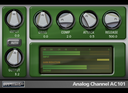 McDSP Analog Channel Native V5