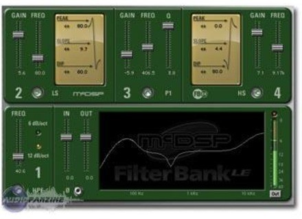 McDSP Filtrer Bank LE