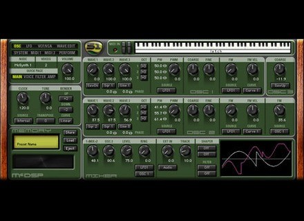 McDSP Synthesizer One