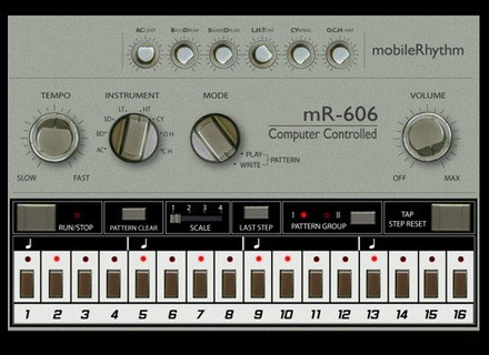 MDP Software mobileRhythm mR-606