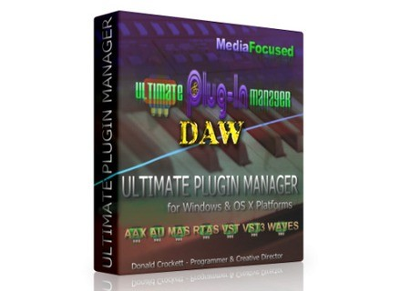 MediaFocused Ultimate DAW Plugin Manager
