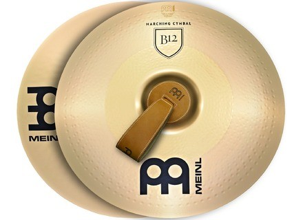 """Meinl Professional Marching Cymbals B12 Pair 16"""""""