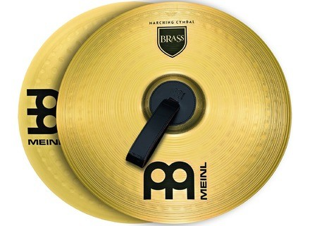 """Meinl Student Range Marching Cymbals Brass Pair 14"""""""