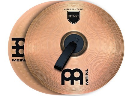 "Meinl Student Range Marching Cymbals Bronze Pair 14"""