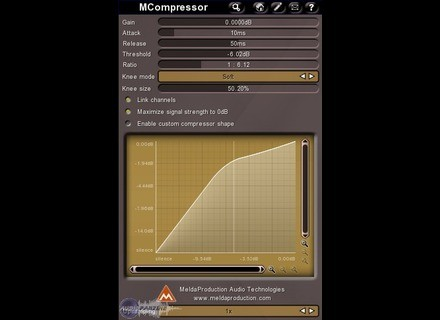 MeldaProduction MCompressor [Freeware]