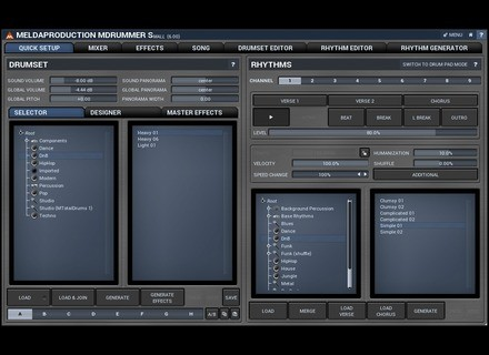 MeldaProduction MDrummer 6 Small