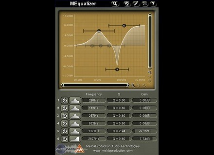 MeldaProduction MEqualizer [Freeware]