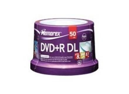 Memorex DVD+R DL