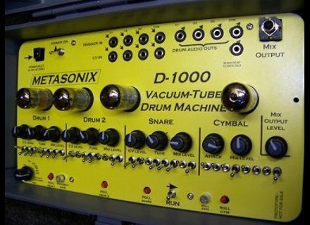 Metasonix D-1000 Vacuum Tube Drum Machine