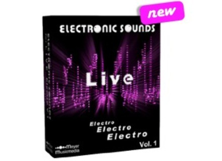 Meyer Musicmedia Electronic Sounds for Live Electro V.1