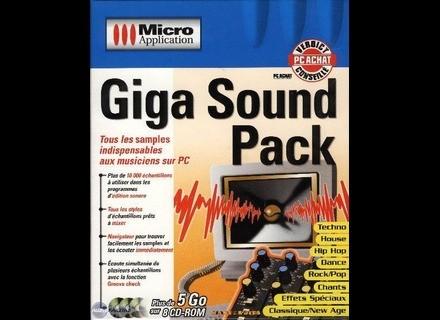 Micro Application GIGA SOUND PACK