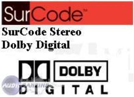 Minnetonka SurCode Stereo Dolby Digital
