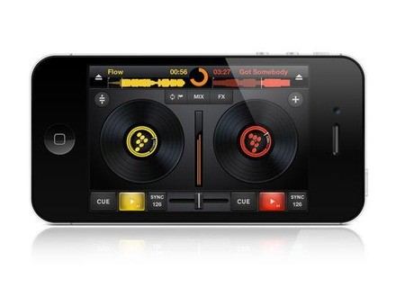Mixvibes Cross DJ for iPhone