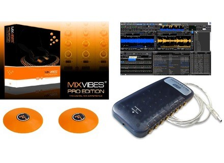 Mixvibes DVS PRODUCER 7 + MAYA44 USB