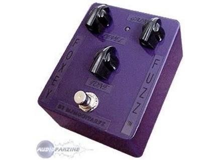 MJM Guitar FX Foxey Fuzz