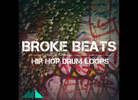 ModeAudio Broke Beats - Hip Hop Drum Loops