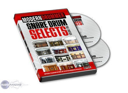 Modern Drummer Snare Drums Selects