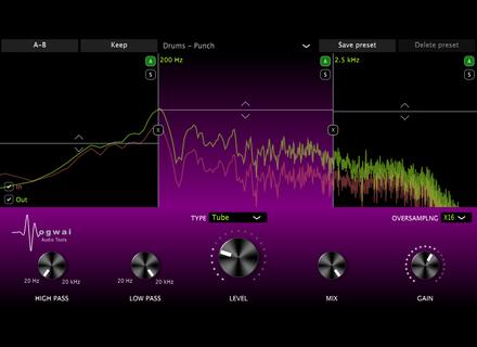 Mogwai Audio Tools Multiband Saturator