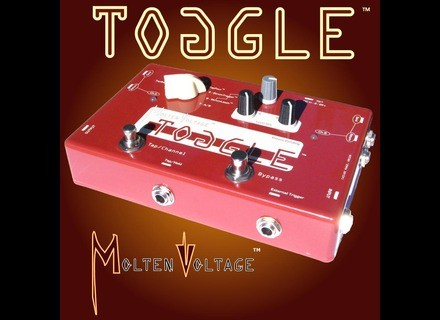 Molten Voltage Toggle Pedal