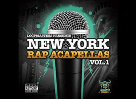 Monster Sounds NEW YORK RAP ACAPELLAS VOL.1