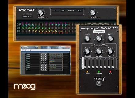 Moog Music MIDI MuRF Pattern Editor
