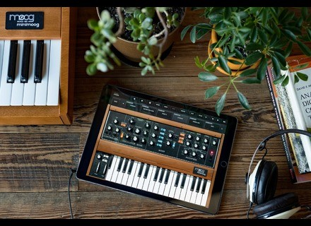 Moog Music Minimoog Model D App