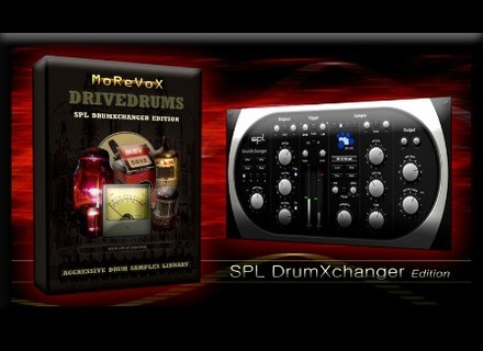 Morevox DriveDrums: SPL DrumXchanger Edition Drum Sample Library