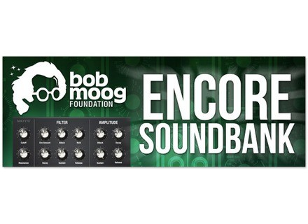 MOTU Bob Moog Foundation Encore Soundbank