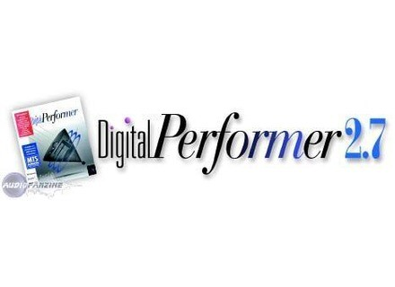 MOTU Digital Performer 2.7