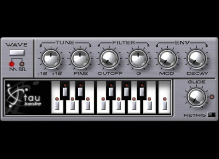 Muon Software Tau Bassline 10th Anniversary Edition