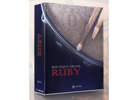 Musical Sampling Boutique Drums - Ruby