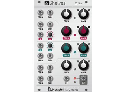 Mutable Instruments Shelves EQ Filter