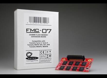 MUTEC FMC-07 2048MB FlashROM Expansion