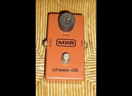 MXR M105 Phase 45 Block Logo Vintage