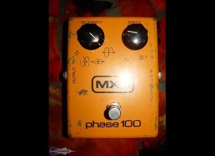 MXR M107 Phase 100 Block Logo Vintage