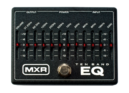 MXR M108 10-Band Graphic EQ