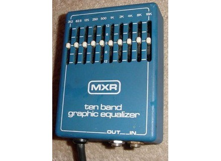 MXR M108 10-Band Graphic EQ Vintage