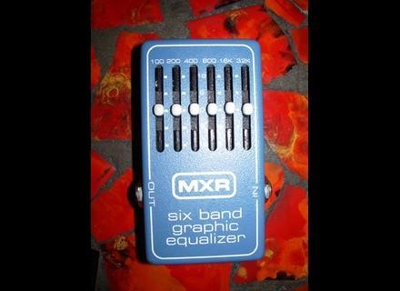 MXR M109 6 band Graphic EQ Vintage