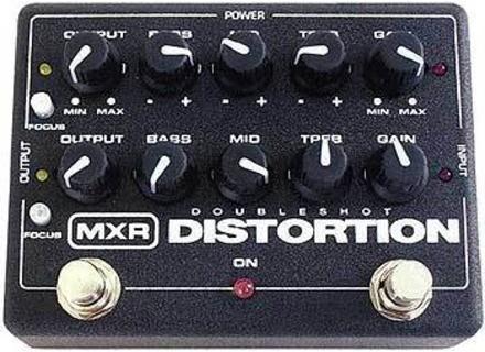 MXR M151 DoubleShot Distortion