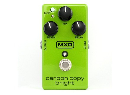 MXR M269 Carbon Copy Bright Analog Delay
