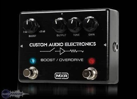 MXR MC402 Boost/Overdrive