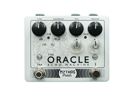 Mythos Pedals The Oracle Echo Machine