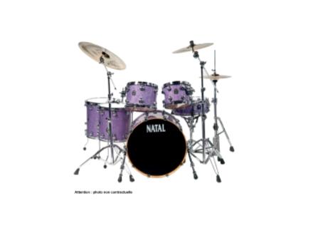 Natal Drums Maple Rock - Violet Sparkle