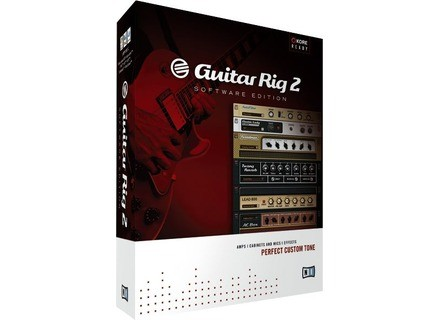 Native Instruments Guitar Rig 2 Software Edition