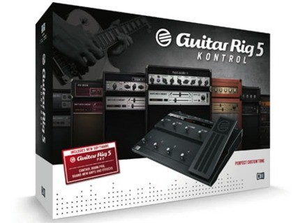Native Instruments Guitar Rig 5 Kontrol