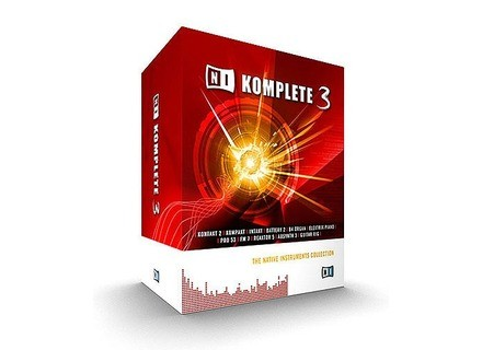 Native Instruments Komplete 3
