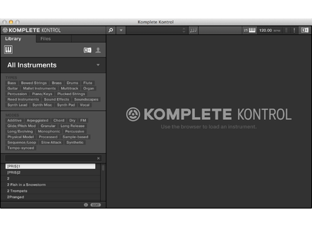 Native Instruments Komplete Kontrol Software
