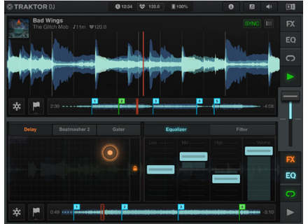 Native Instruments Traktor DJ for iPad